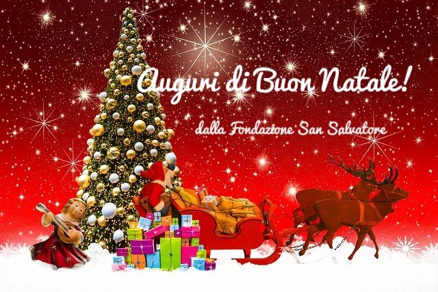 Buon Natale Cugini.Santo Natale 2019 Fondazione San Salvatore